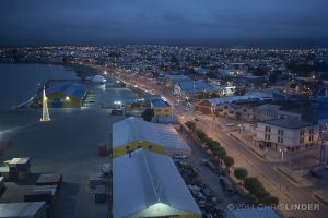 Summer Night in Punta Arenas