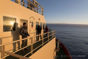 "Halfway Across the ""Fearsome"" Drake Passage"