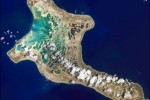 Kiritimati Island as seen from space (NASA)