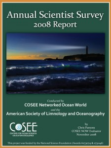 Annual Scientist Survey 2008 Report
