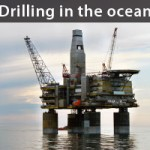 Drilling in the ocean