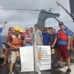 Cape Fear Community College drifter launch