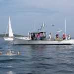 First drifter to be launched during MATE Partner Meeting at Southern Marine Community College. August 11, 2009.