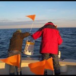 University of Massachusetts launching bucket drifter