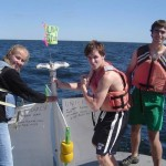 Univeristy of New Hampshire student interns launch drifter