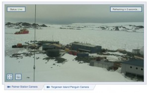LMG docking at Palmer
