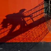 boarding in shadow