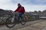 Josh on a bike