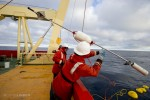 Tossing the high-flyer buoy