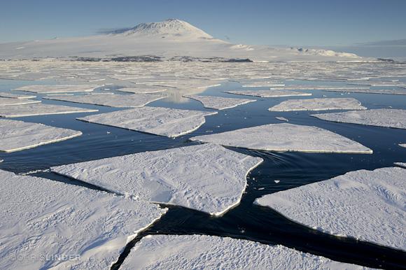Follow the ice to Erebus