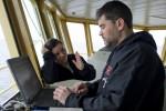 Filipa and Dr. Kohut at Glider Base
