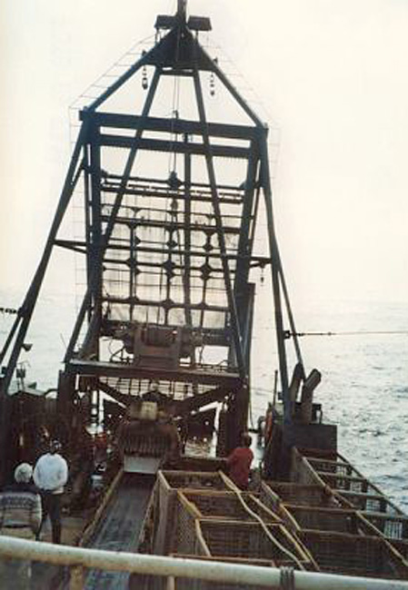 clam-dredge